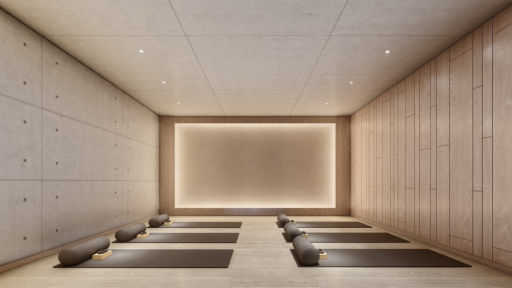 Cumbres de Santa María - Sala de yoga